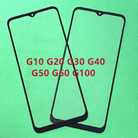 10 Uds LCD de repuesto de pantalla táctil frontal de vidrio exterior lente para Motorola Moto G10 G20 G30 G40 G50 G60 G100