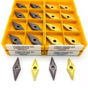 Image 5 - Carbide insert VNMG160404 MA VP15TF high precision external metal turning tool lathe tools CNC machine parts turning blade