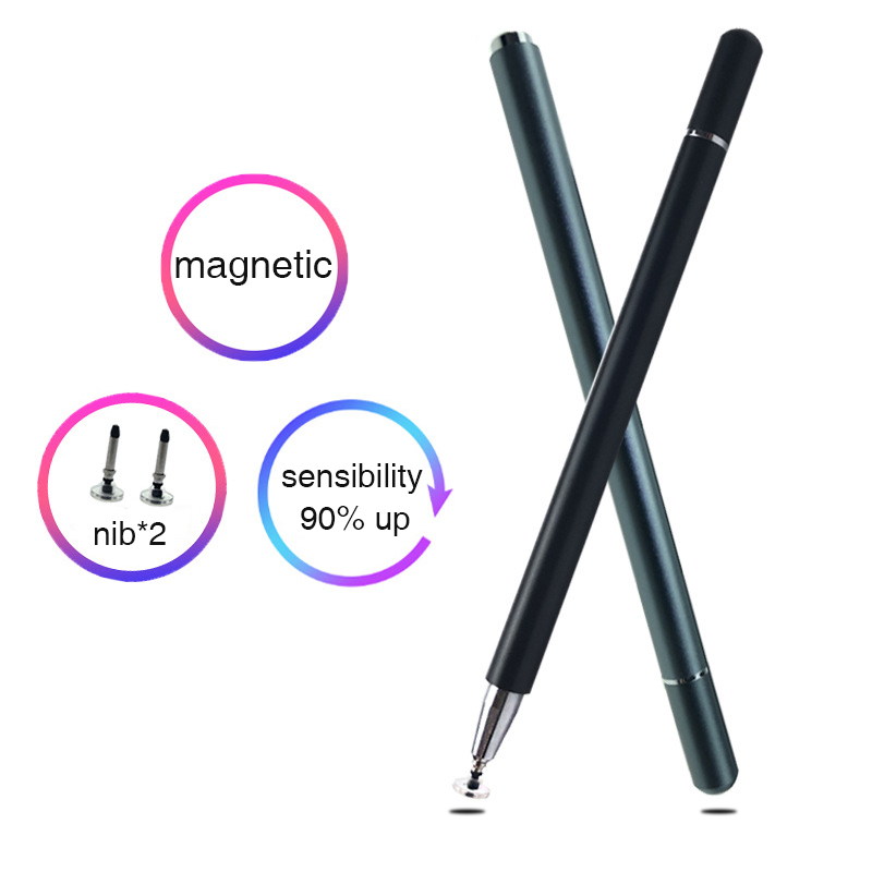 Universal Metal Capacitive Screen Pencil Stylus For Tablet Mobile Phone Touch Screen Pen For Huawei Xiaomi Tablet Pencil Manetic