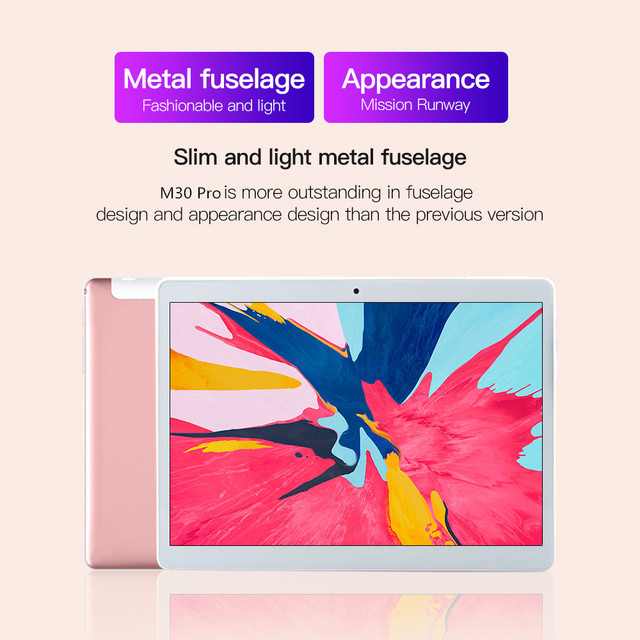 New 10.1'' S10 Tablet 1920x1200 IPS 6GB RAM 128GB ROM 5G pc Gaming Octa Core Tablets PC Android 10 Dual SIM Wifi Type-C 2
