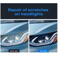 10/30ML High Density Headlight Polish Liquid Car Restoration Fluid Durable Car Repair set with towel sponge car washing kitTSLM1 4