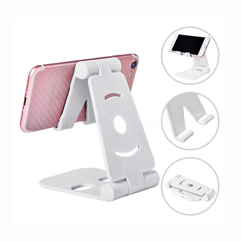 Small Office Desk Gift Set Cute Small Compact Phone Stand Stable Sceen Holder Easy To Adjust Very Tight Unfolds Phone Parts