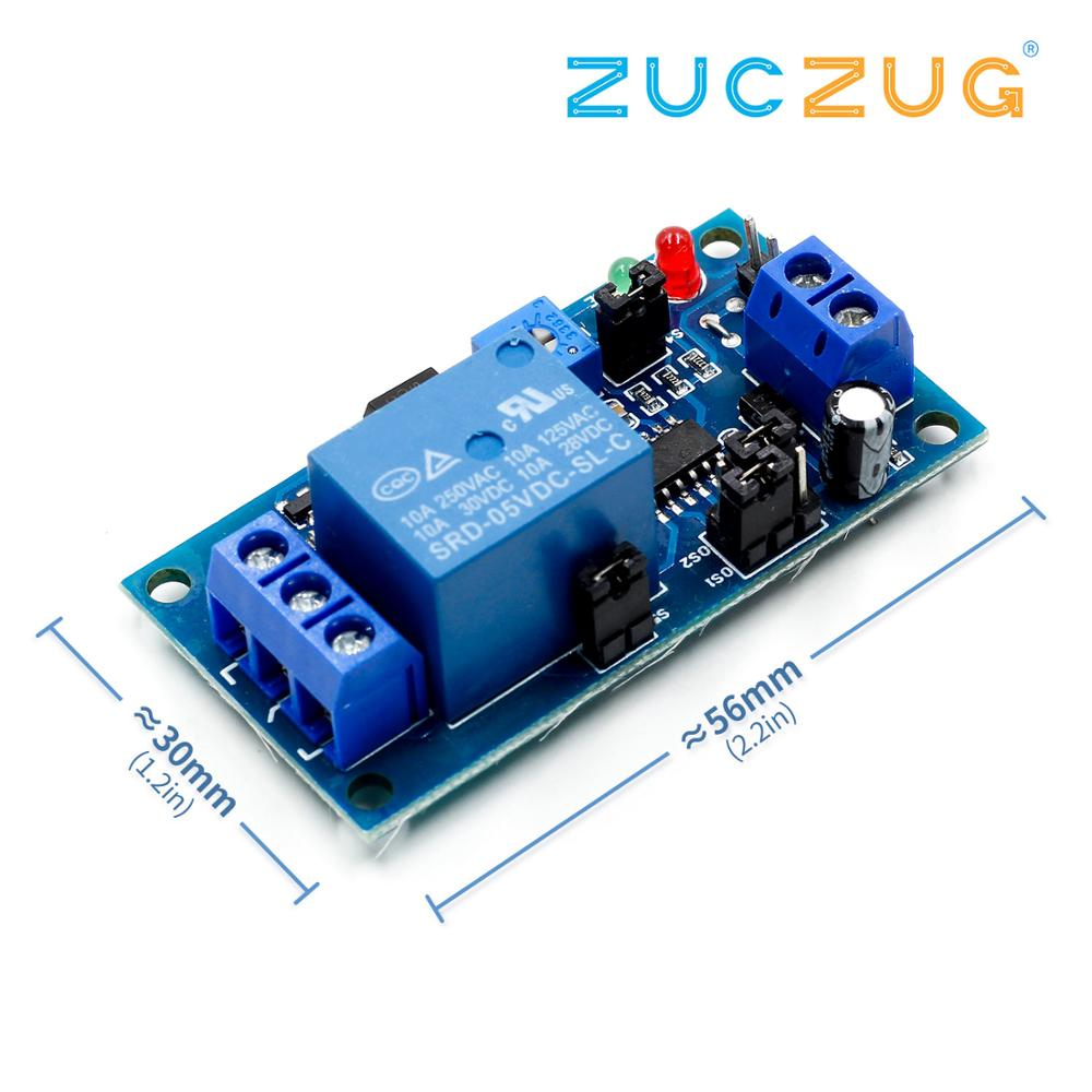 High Quality Delay Relay Delay Turn On / Delay Turn Off Switch Module With Timer DC 5V/12V