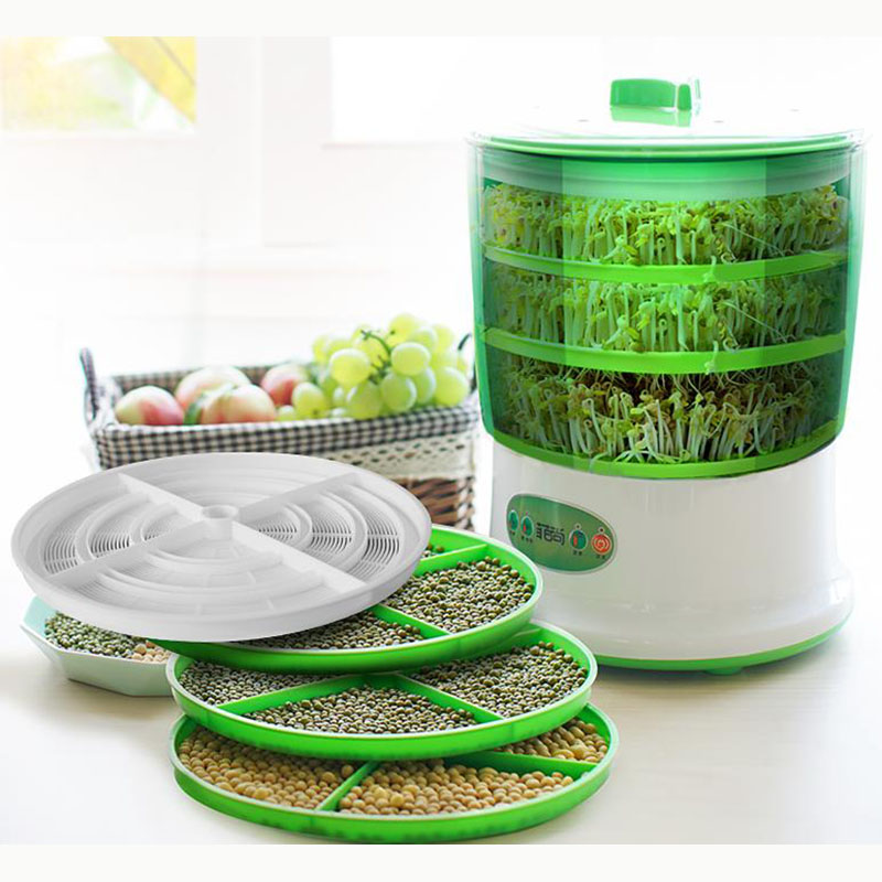 Bean sprouts machine household automatic multi-function large capacity hair bean tooth machine food processing and home applianc