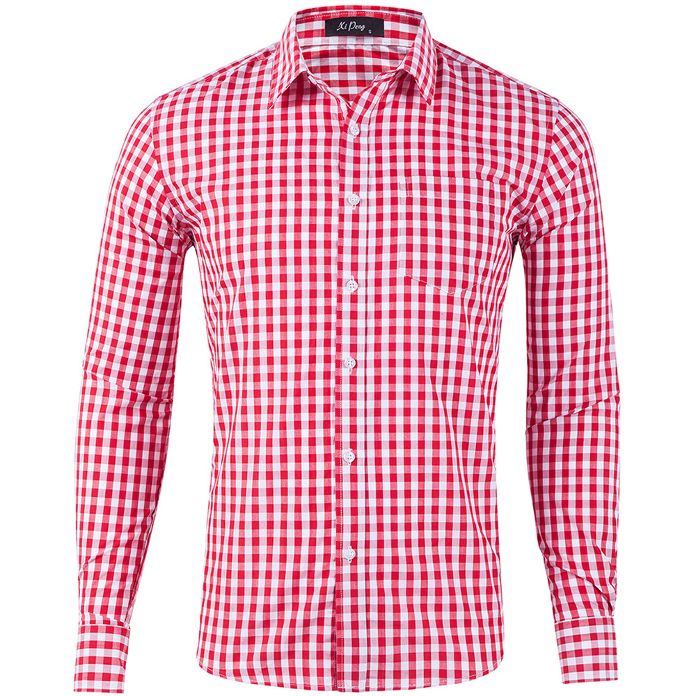2020 Newl Men's Shirt Slim Fit Spring Autumn Male Brand Casual Long Sleeved Shirts Soft Comfortable