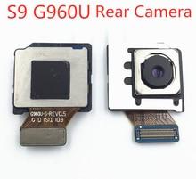 1pcs Back Rear big Main Camera Front Facing small Camera Module Flex Cable For Samsung Galaxy S9 SM-G960U S9 Plus G965U Flex 1pcs rear camera front small camera module facing iris id flex cable for samsung galaxy note 8 n950f n950n n950u s8 plus g955u