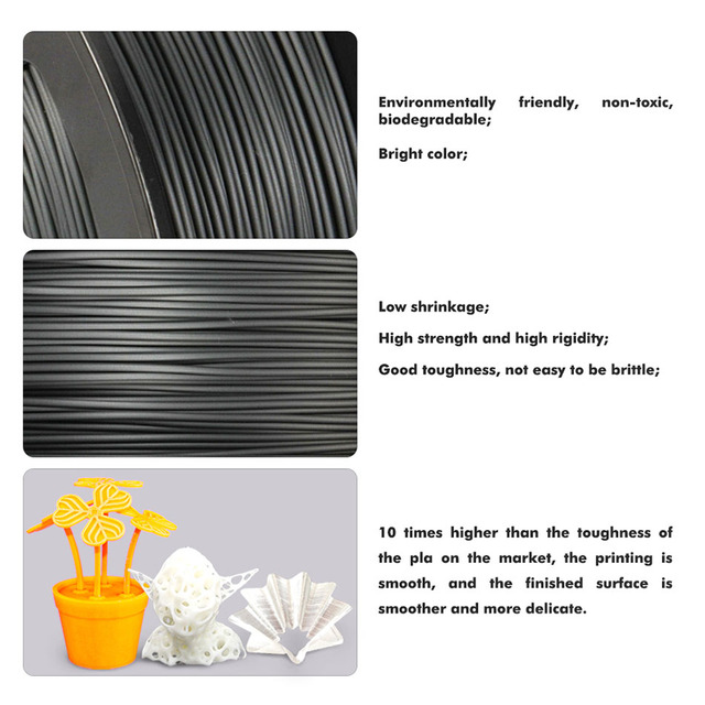 SUNLU PLA/PLA+ 3D Printer Filament 1.75mm 1KG With Spool PLA/PLA Plus Filament For 3D Printing Pen Children Scribble Gadget