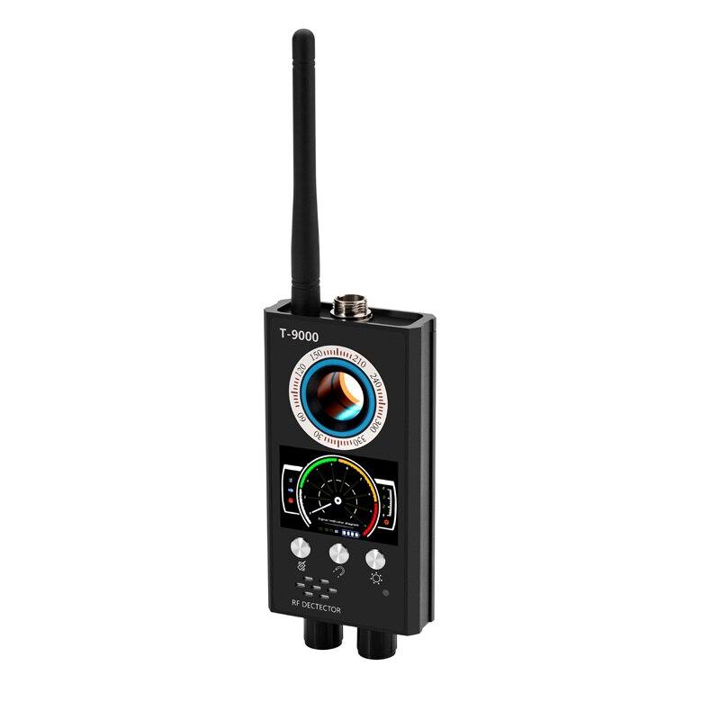 T9000 señal GSM Detector Micro Sensor de onda Anti-espía Bug GPS Detector de alarma de seguridad buscador de dispositivo de detección RF pista inalámbrica Dispositivo de crecimiento más grande del pene extensor de aumento del pene