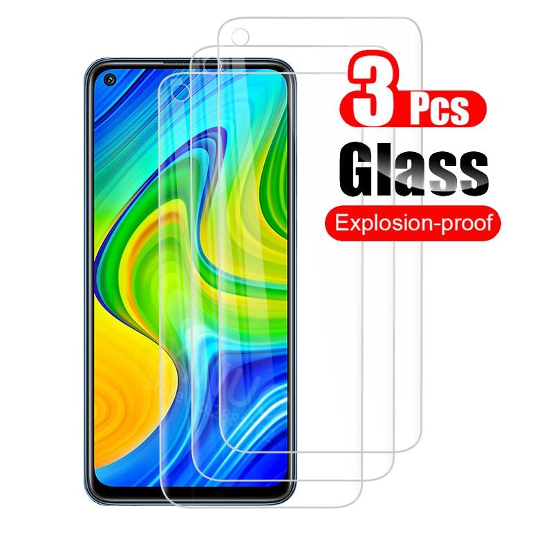 Закаленное стекло 3 шт. для xiaomi redmi note 9 pro 9s 9a 9pro 9t 9c nfc полное покрытие стекло note9 note9pro note9s note9t защитная пленка