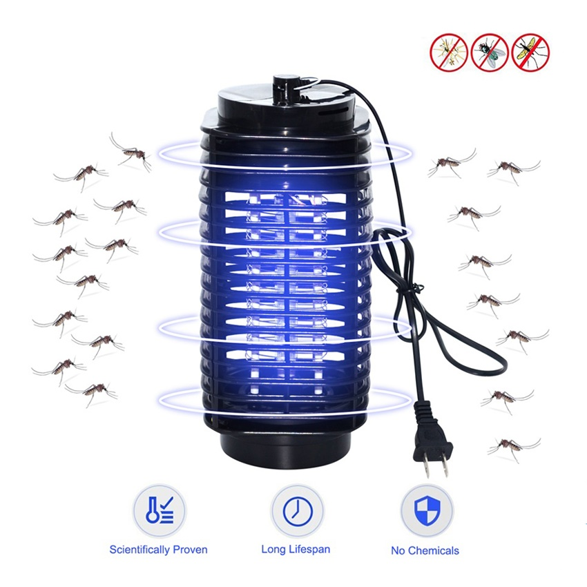 2020 Bug Zapper LED Mosquito Insect Killer Lamp Electric Pest Moth Fly Anti Mosquito Killer Lights Trap Lamps 220V EU US Plug