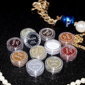 Eye Shadow Palette Hot Shiny Shimmer Glitter Powder Lasting Eye Makeup Cosmetics Tools Loose Pigment Waterproof Eyeshadow TSLM1
