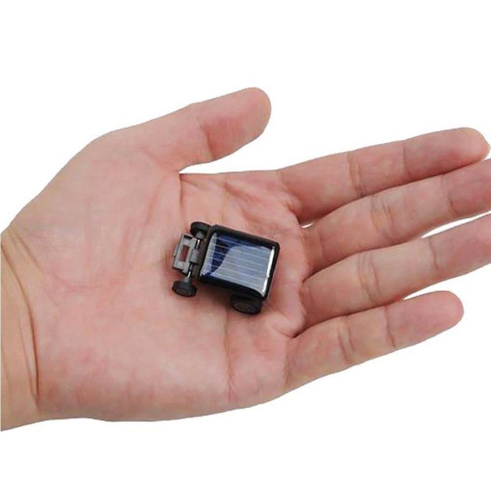 Smallest Solar Power Mini Toy Car Racer Educational Power 33mm Car Solar Mini Toy 22mm x Powered Energy 14mm Solar x O0H4