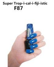 F87 Suzi olmadan kürek 15ml UV LED jel cila Vernis kalıcı kalıcı parlaklık balsamik Nail Art (gerek lamba kuru)