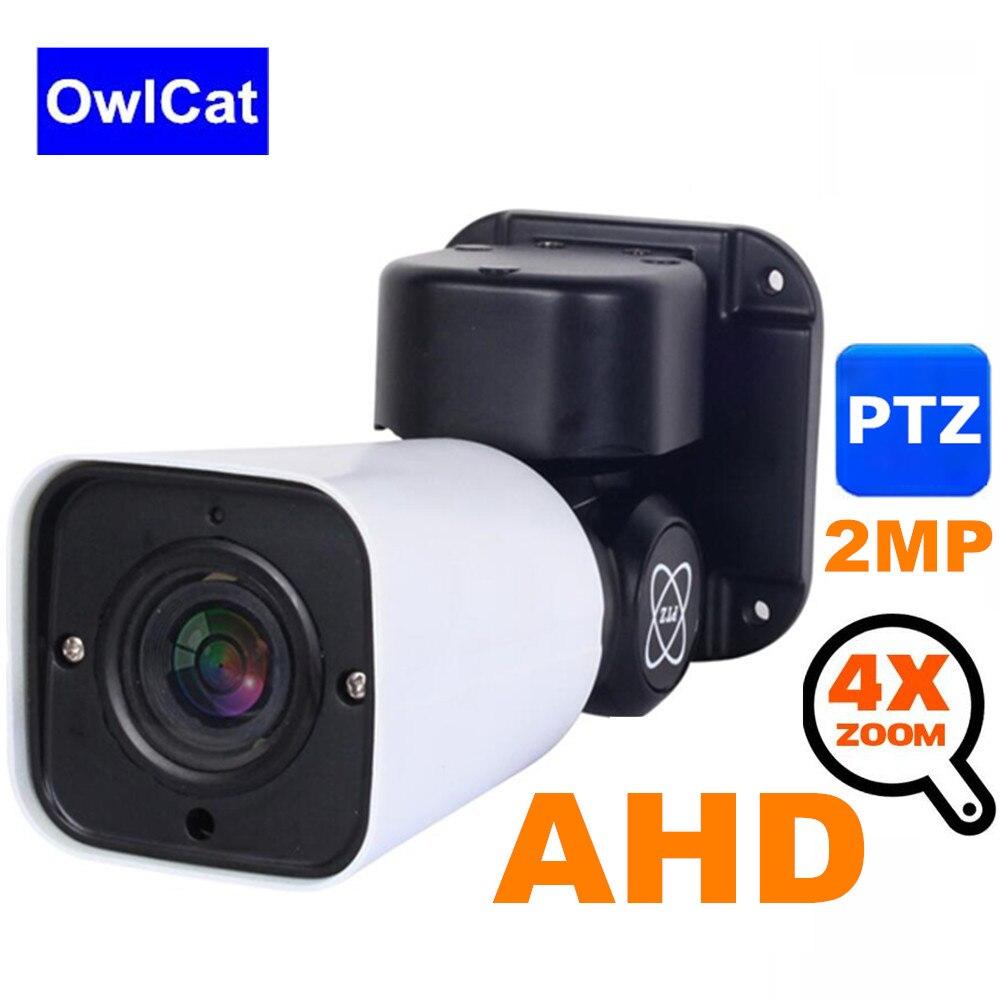 Kamera AHD 1080P 2MP 4X Zoom PTZ na świeżym powietrzu KAMERA TELEWIZJI PRZEMYSŁOWEJ na podczerwień 50M zabezpieczenia analogowy aparat nadzoru AHD CVI TVI analogowy CVBS 4in1 UTC w Kamery nadzoru od Bezpieczeństwo i ochrona na AliExpress - 11.11_Double 11Singles' Day 1
