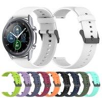 Cinturino in Silicone 22mm per Samsung Galaxy Watch 3 cinturini Smartwatch 45mm Galaxy Watch 46mm/S3 cinturino cinturino sostituisci accessori