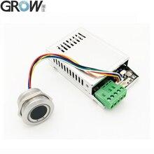 Büyümek K216 + R503 iki renkli halka gösterge ışığı röle süresi 0.5s 20s kapasitif parmak izi erişim kontrol panosu