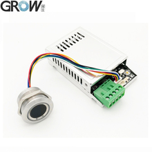 GROW K216+R503 Two Color Ring Indicator Light Relay Time 0.5s 20s Capacitive Fingerprint Access Control Board
