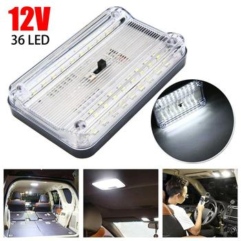 цена на Hot sales!Super bright 12V 36 LED Car Vehicle Interior Dome Roof Ceiling Reading Trunk Light Lamp Fast delivery Dropshipping CSV