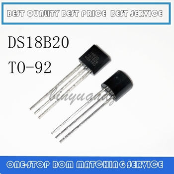 10PCS-100PCS DS18B20 TO92 Sensor 18B20 TO-92 Digital Thermometer