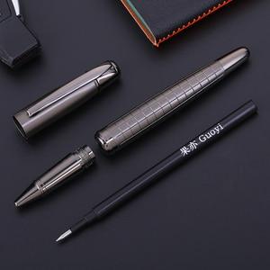 Image 2 - Guoyi A109 Schwere fühlen luxus Gel stift Metall high end business büro geschenke und corporate logo anpassung unterschrift stift