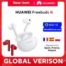 CODE:TTARYFA5 60$-5 OFF 2021 nowa pozycja HUAWEI FreeBuds 4i słuchawki Bluetooth TWS bezprzewodowa aktywna redukcja szumów | Czysta jakość dźwięku bezprzewodowe słuchawki