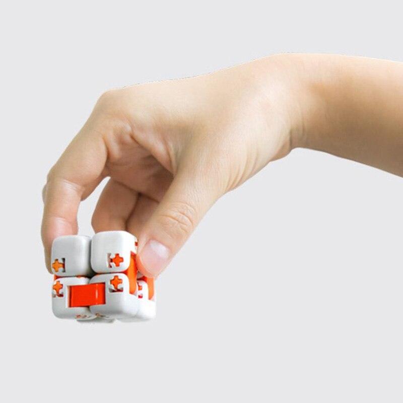 Xiaomi Mitu Square Rotating Finger Brick Intelligent Toys Intelligent Fidgeting Cube Infinite Toys Anti-stress Anxiety