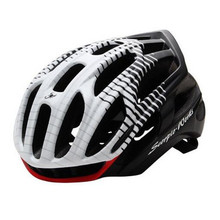 Mens Scohiro Mtb Mountain Road bike Helmet Led warning light Bicycle He