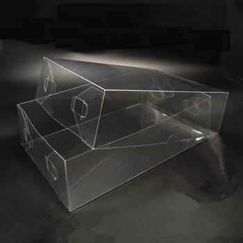 50pcs/lot Large Plastic transparent PVC transparent box food tea packaging box