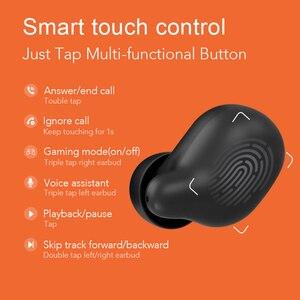 Image 5 - Haylou T15 2200mAh dokunmatik kontrol kablosuz kulaklıklar HD Stereo gürültü izolasyon Bluetooth kulaklık pil seviyesi göstergesi ile