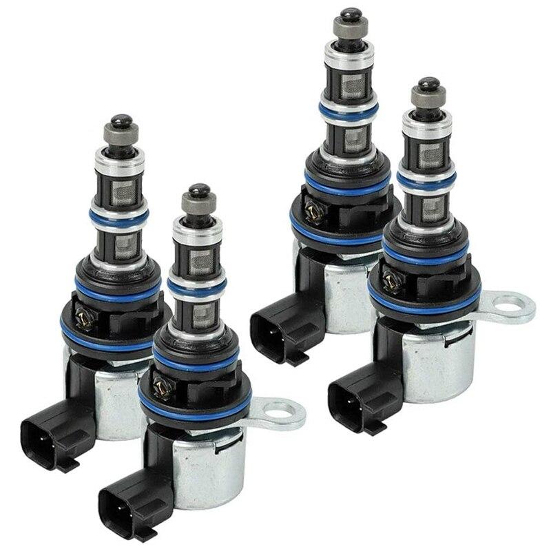 4 piezas válvula de solenoide para coche de árbol de levas de la válvula de solenoide para Dodge Chrysler 53032152AC 68060345AA 53032152AD Válvula de Osmosis inversa de 4 vías de 1/4