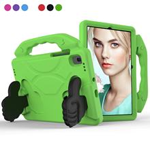For Samsung Galaxy Tab A7 Tablet Case Childs EVA Safe Stand Handle Tablet Shell Covers for Samsung Tab A7 10.4 inch SM-T500