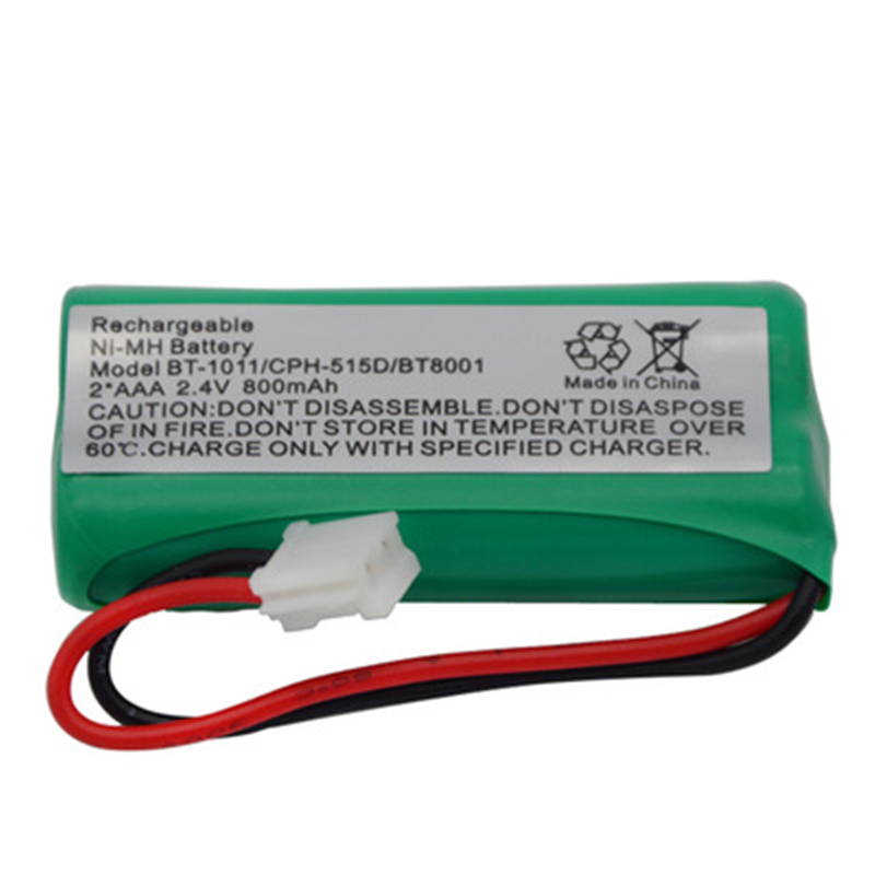 2.4V 800mAh Ni-MH Cordless Phone Battery For Uniden BT-1011 BT-1018 BT101