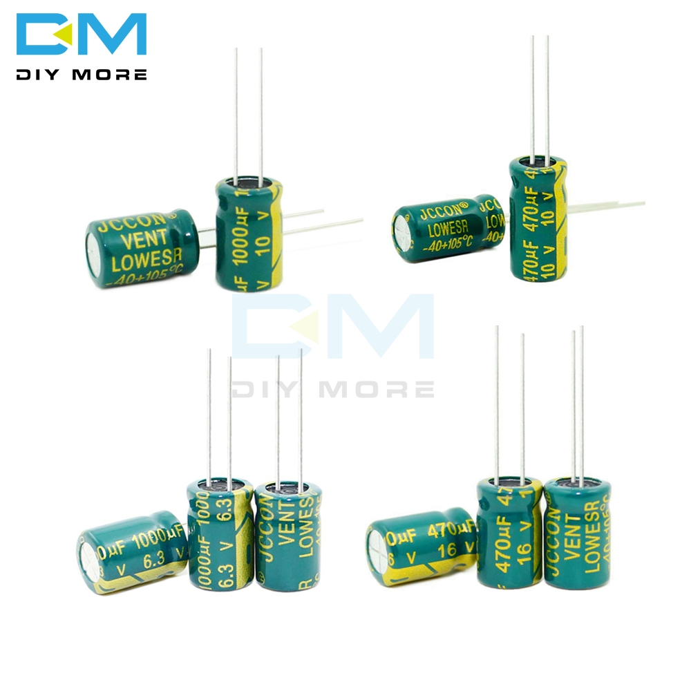 10PCS 6.3V 10V 16V 25V <font><b>35V</b></font> 63V 100V 250v 400V 100UF 220UF <font><b>330UF</b></font> 470UF 680UF 1000UF 1500UF 2200UF 3300uf Electrolytic <font><b>Capacitor</b></font> image