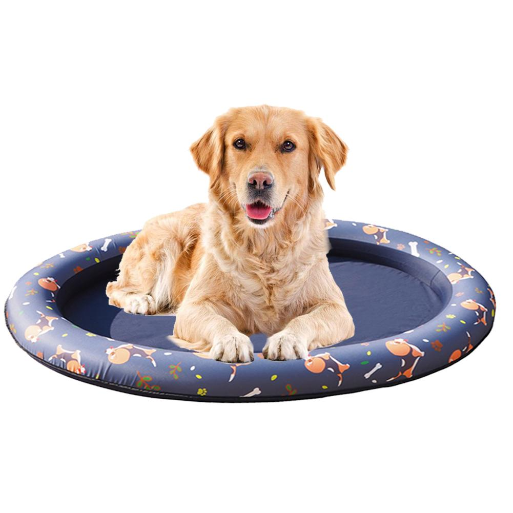 Dog Pool Float Pet Hammock Float Pet Swimming Pool Inflatable Hammock Pet Swimming Ring Dog Swimming Pool