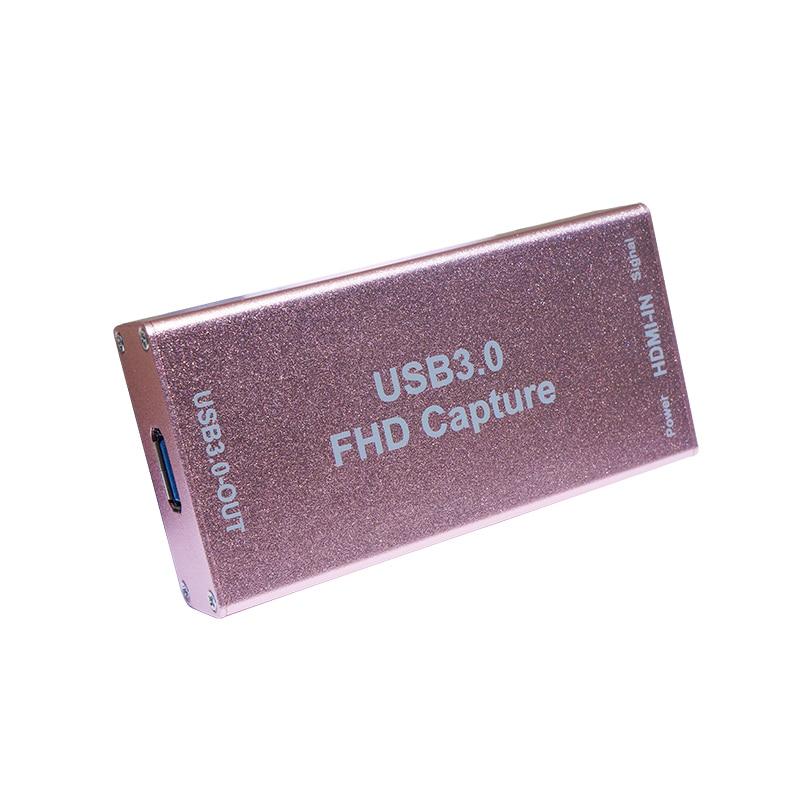 Full HD USB3.0 1080P HDMI Video Capture Card Box Standard For Windows/Linux/Mac HDMI Capture Dongle For USB UVC UAC