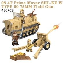 Toys Bricks Building-Blocks Army Military Weapon-Parts Soldier-Figures WW2 Children
