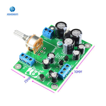 2018 Version PREAMP 9 P9 Single-ended Pure Class A Transistor PRE Pre-amplifier Finished Board with Potentiometer 1pair pass am single ended class a power amplifier board 10w with balanced input finished board