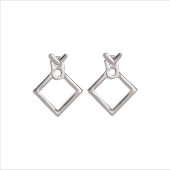 Hot Trendy Cute Nickel Free Earrings Fashion Jewelry  Earrings Square Stud Earrings For Women Brincos Statement Earrings 2