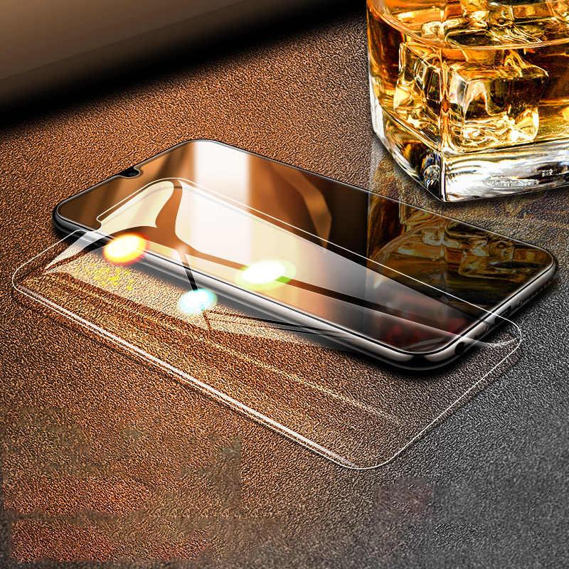 3 uds. Protector de pantalla de vidrio templado para Huawei Y5 Prime 2018 Y6 Y7 Y9 Prime 2019 Y7 Pro 2019 película de vidrio protectora completa