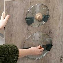 2 шт. стеллаж для горшков с крышкой кухонный органайзер для посуды держатель настенный шкаф подвесной SEC88