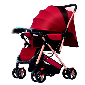 Baby Stroller Portable Baby Pushchair Baby Pram Baby Comfort two-sided for Newborn Baby carriage travel folding stroller child portable lightweight baby stroller folding buggy pram child umbrella car baby carriage travel airplane pushchair wheelchair 0 3y