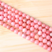 Natural Redstone 4/6/8/10 mm Natural Stone Bead Round Bead Spacer Jewelry Bead Loose Beads For Jewelry Making DIY Bracelet