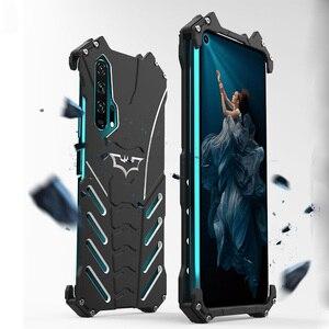 Чехол для HUAWEI Honor 20 Pro, оригинальный ударопрочный Алюминиевый металлический чехол с изображением Бэтмена, для Huawei Honor 20 S, Honor 20