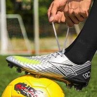 Erwachsene Im Freien Männer Fußball Stiefel Athletischen Fußball Sport Schuhe Lange Spikes Stollen Training Fußball Sneaker Turf Futsal Größe 38- 44