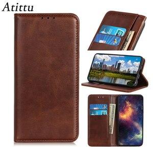 Image 2 - מקרה טלפון עבור Samsung Galaxy A51 A71 מקרה כיסוי עור פרה עור מגנטי עמיד הלם כרטיס חריץ Flip ספר מקרה עבור סמסונג a51