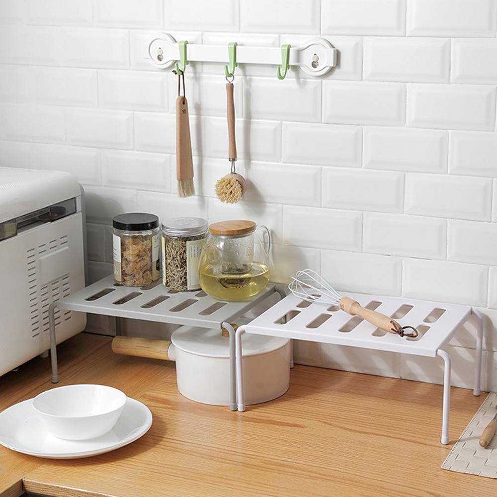 Многофункциональная кухонная полка для хранения регулируемая