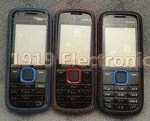 Coque de protection complète pour Nokia 5130, avec verre, cadre central et clavier anglais, nouveauté