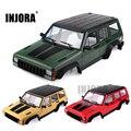 INJORA Painted Hartplastik 313mm Radstand Körper Auto Shell für 1/10 RC Crawler Axial SCX10 & SCX10 II 90046 90047-in Teile & Zubehör aus Spielzeug und Hobbys bei