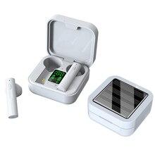 Originale AIR6 PIÙ del trasduttore auricolare di Ricarica Solare TWS Bluetooth cuffia display A LED mini auricolari bluetooth 5.0 auricolare telefoni cellulari