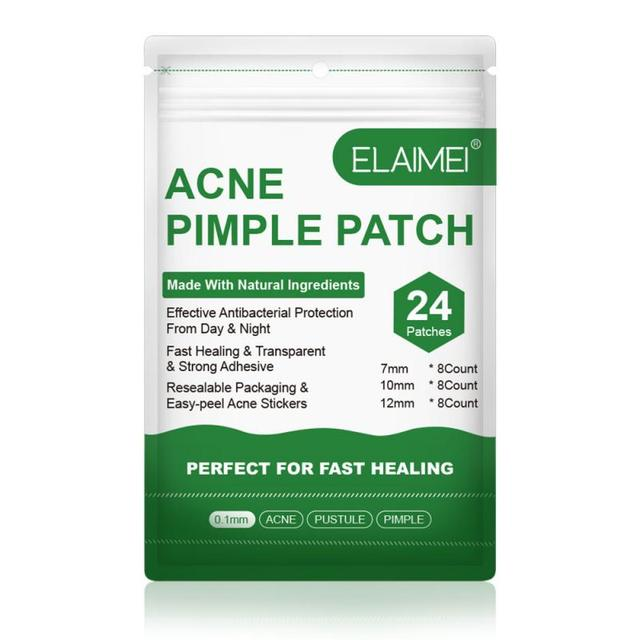 24Pcs/Sheet Acne Pimple Patch Invisible Acne Stickers Blemish Treatment Acne Master Pimple Remover Tool Skin Care